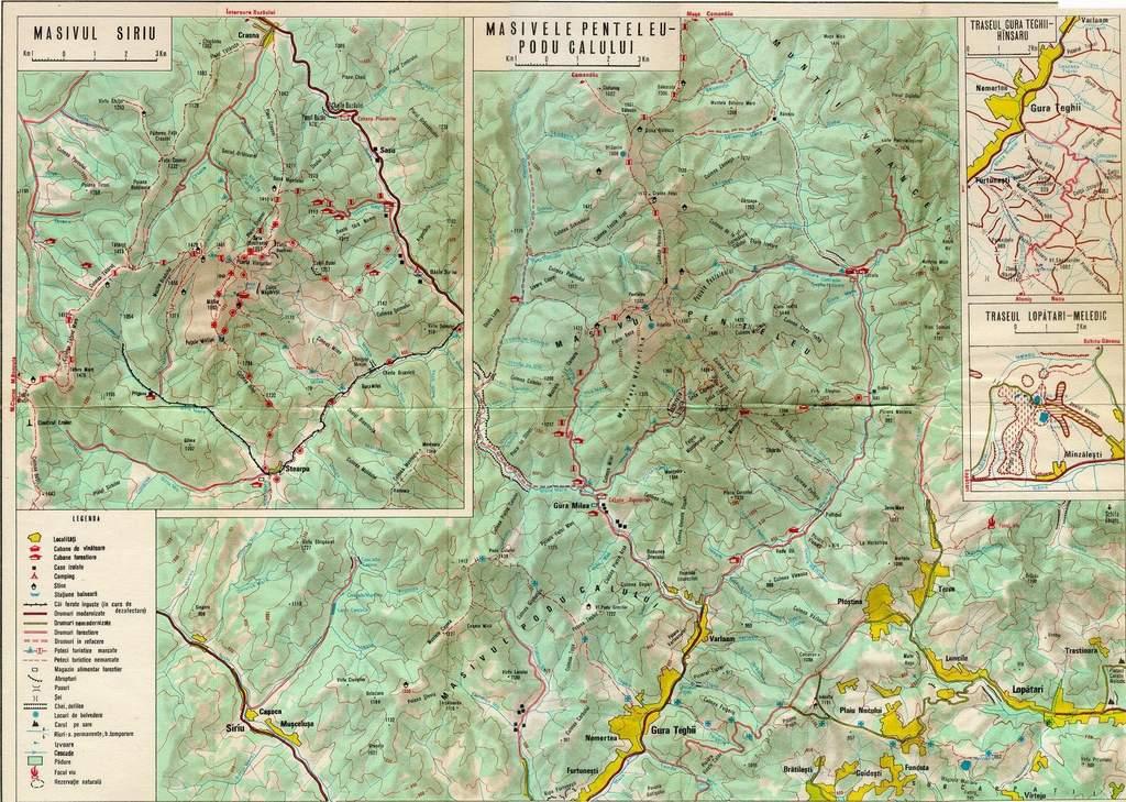 Harta Judetului Buzau Stiefel Romania