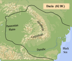 Dacia Map